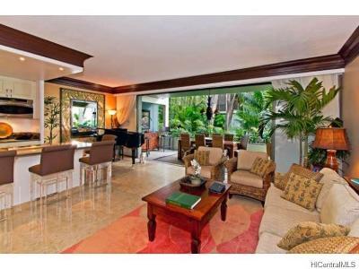 Condo/Townhouse For Sale: 4999 Kahala Avenue #111