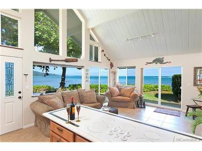 Kaaawa HI Single Family Home For Sale: $1,063,000