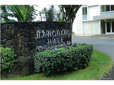 Condo/Townhouse For Sale: 53-549 Kamehameha Highway #607