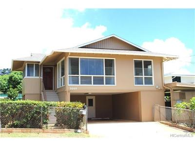 Single Family Home In Escrow Showing: 3660 Keanu Street