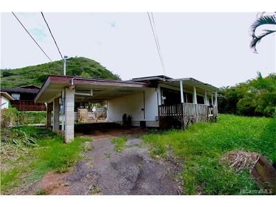 Haleiwa Single Family Home In Escrow Showing: 58-127 Wehiwa Place