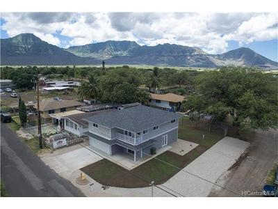 Waianae HI Single Family Home In Escrow Showing: $739,000