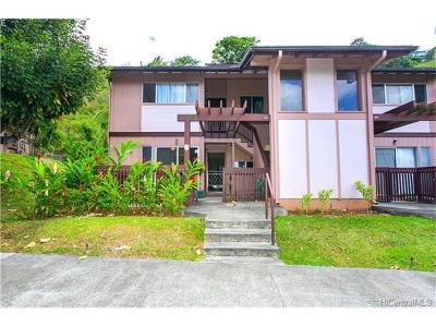 Aiea Condo/Townhouse For Sale: 98-615 Kilinoe Street #6A1