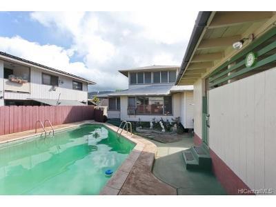 Single Family Home For Sale: 3144 Mokihana Street
