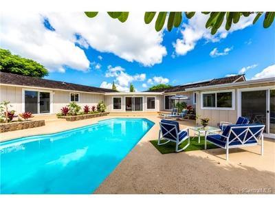 Hawaii County, Honolulu County Single Family Home For Sale: 659 Onaha Street