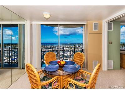 Honolulu Condo/Townhouse For Sale: 1765 Ala Moana Boulevard #888