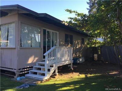 Multi Family Home In Escrow Showing: 55-545 Kamehameha Highway