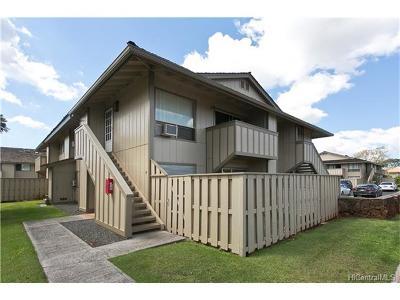 Waipahu Condo/Townhouse In Escrow Showing: 94-1124 Mopua Loop #F1