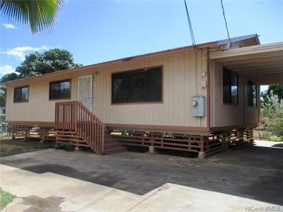 Waianae Rental For Rent: 84-871 Hanalei Street #B