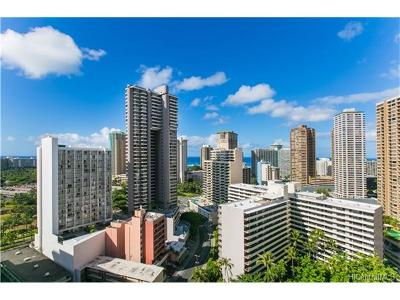 Honolulu Condo/Townhouse For Sale: 469 Ena Road #2310