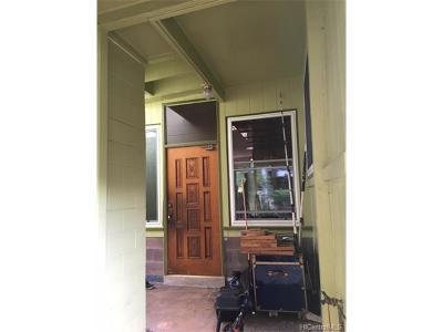 Aiea Single Family Home For Sale: 98-891 Moanalua Road