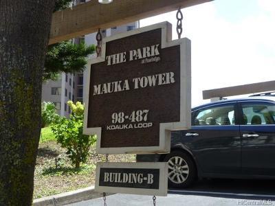 Aiea Condo/Townhouse For Sale