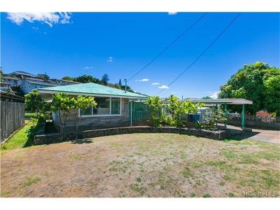 Aiea Single Family Home For Sale: 99-687 Kaulainahee Place