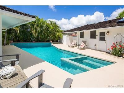 Hawaii County, Honolulu County Single Family Home For Sale: 4776 Farmers Road