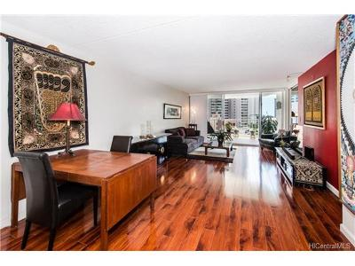 Honolulu Condo/Townhouse For Sale: 469 Ena Road #1210