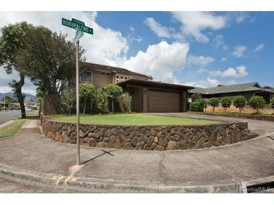 Mililani Single Family Home In Escrow Showing: 94-033 Hokupalemo Place