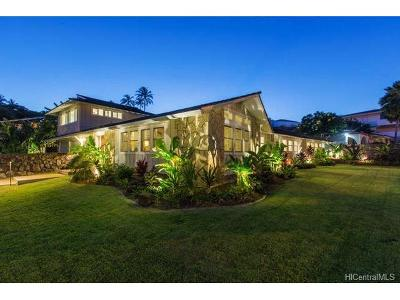 Hawaii County, Honolulu County Single Family Home In Escrow Showing: 650 Ahakea Street