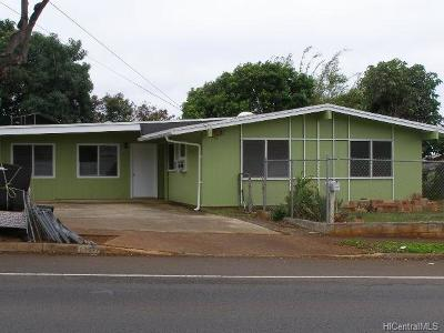 Aiea Single Family Home In Escrow Showing: 99-577 Halawa Road