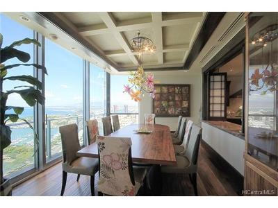 Hawaii County, Honolulu County Rental For Rent: 1288 Ala Moana Boulevard #Ali'i PH