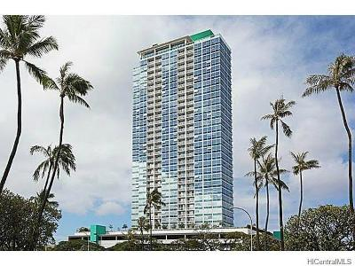 Hawaii County, Honolulu County Condo/Townhouse In Escrow Showing: 909 Kapiolani Boulevard #702
