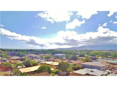 Pearl City Condo/Townhouse For Sale: 950 Lehua Avenue #605