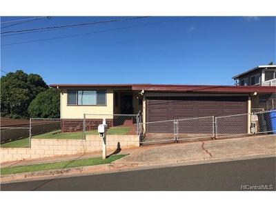 kapolei Single Family Home For Sale: 92-638 Auwaea Street