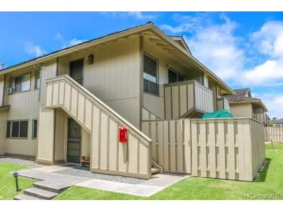 Waipahu Condo/Townhouse For Sale: 94-1159 Mopua Loop #P7