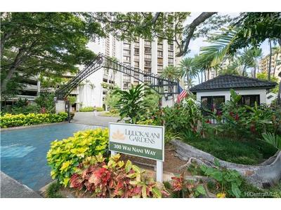 Honolulu Condo/Townhouse For Sale: 300 Wai Nani Way #1017