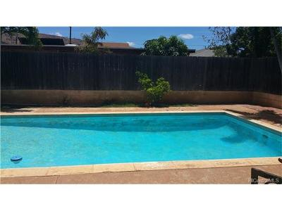Waianae Single Family Home In Escrow Showing