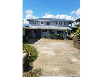 Aiea Single Family Home For Sale: 98-886 Kaamilo Street