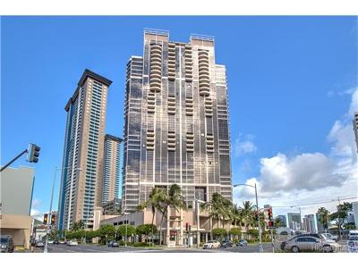Honolulu Condo/Townhouse For Sale: 600 Queen Street #811