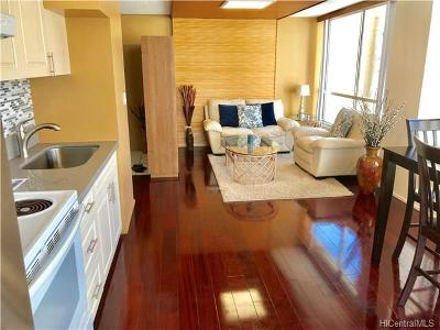 Hawaii County, Honolulu County Condo/Townhouse In Escrow Showing: 2421 Tusitala Street #802