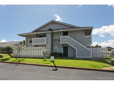 Waipahu Condo/Townhouse In Escrow Showing: 94-757 Paaono Street #D6