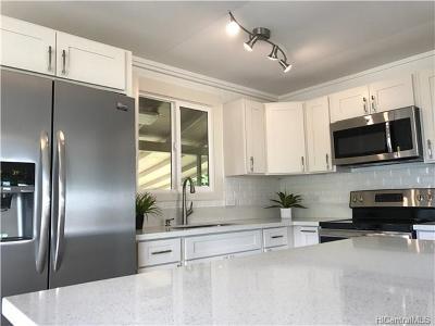 Waipahu Single Family Home For Sale: 94-1336 Hiapo Place