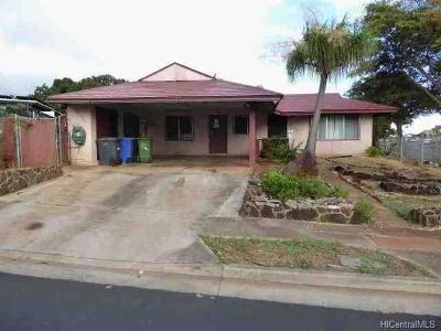 Waipahu Single Family Home For Sale: 94-1403 Hiali Place