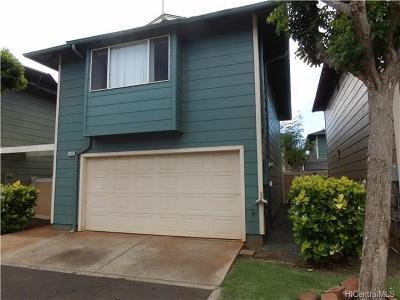 Ewa Beach Single Family Home For Sale: 91-1034c Hoomaka Street #28