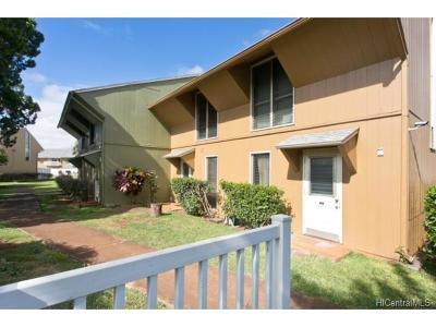 Mililani Condo/Townhouse For Sale: 95-146 Kipapa Drive #54