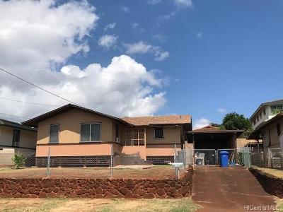 Waipahu Single Family Home For Sale: 94-1116 Hiapo Street