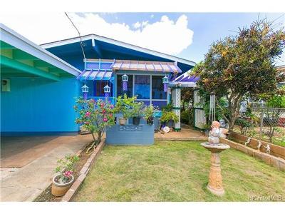 Waipahu Single Family Home For Sale: 94-245 Pupukoae Street
