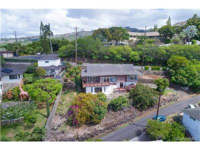Honolulu Single Family Home For Sale: 2644 Pacific Hts Road