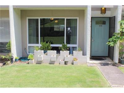 Kailua Condo/Townhouse In Escrow Showing: 134-3 Noke Street #603