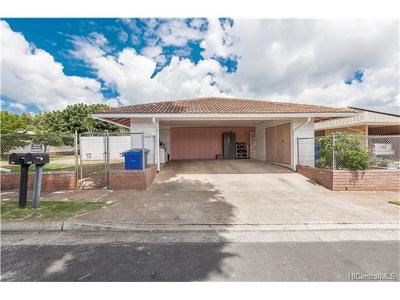 Pearl City Single Family Home In Escrow Showing: 1198 Palekaiko Street