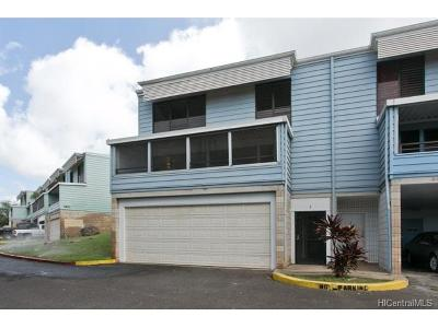Waianae Condo/Townhouse For Sale: 87-212 Helelua Street #1