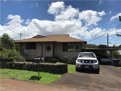 Wahiawa Single Family Home In Escrow Showing: 1249 Rose Place