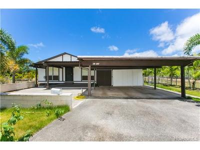 Waimanalo Single Family Home For Sale: 41-668 Kaulukanu Street