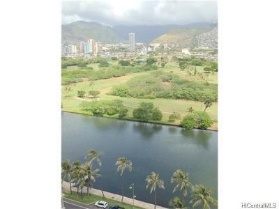 Honolulu Condo/Townhouse For Sale: 2421 Ala Wai Boulevard #2003