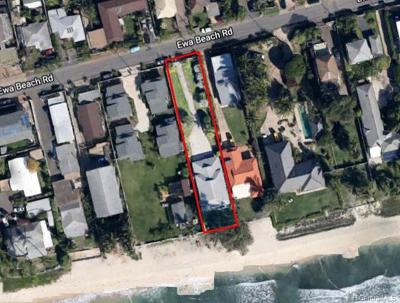 Ewa Beach Single Family Home For Sale: 91-243 Ewa Beach Road