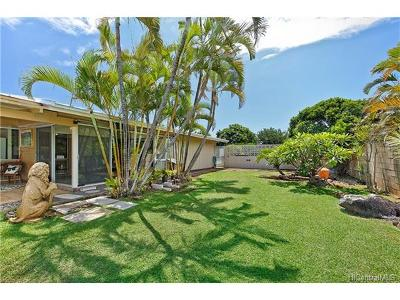 Honolulu Single Family Home For Sale: 612 Poipu Drive