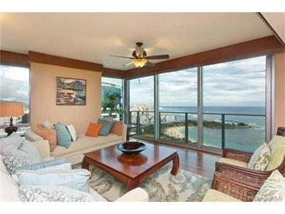 Honolulu Condo/Townhouse For Sale: 1288 Ala Moana Boulevard #38L