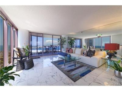 Honolulu Condo/Townhouse For Sale: 425 South Street #2301 Mau
